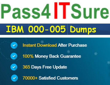 Pass4itsure 000-005 dumps exam