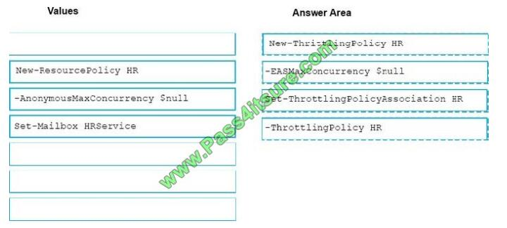 Pass4itsure Ms-201 exam questions-q6-2