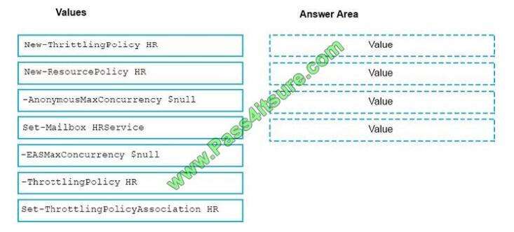 Pass4itsure Ms-201 exam questions-q6