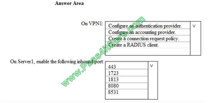 Pass4itsure Ms-500 exam questions-q11